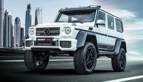 Extreme Luxury Off-Road With The Tough Brabus 700